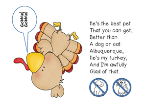 Albuquerque Turkey Lesson Plan